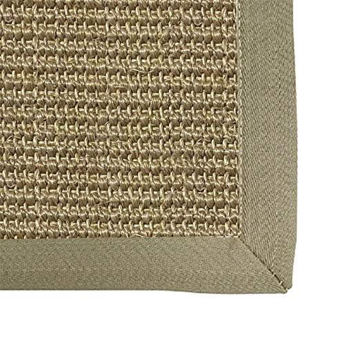 Alfombra de pasto marino, Plegable Trenzado Sisal Antideslizante Estera japonesa para Al aire libre Sala de estar Cuarto Cocina colchón de tatami, 10 mm, 6 tamaños ( Color : A , Size : 60x120cm )
