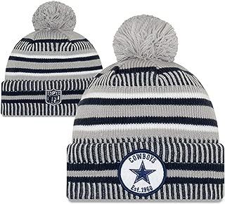 New Era NFL Sport Knit Winter Pom Knit Hat Cap Beanie