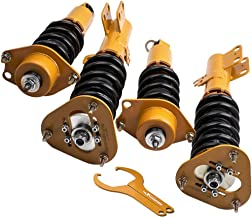 4Pcs Racing Coilovers Kits For Toyota Corolla 09-17 E140 Adj Height Suspension Shocks