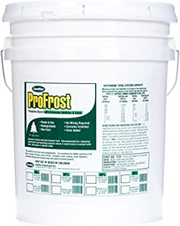 ComStar 35-838 ProFrost Chiller/Anti Freeze/Heat Transfer Fluid with Corrosion Inhibitor and Color, 50% Solution Ratio, 5 gal Pail, Fluorescent Green