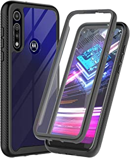 ONOLA Designed for Moto G Fast Case,Three Defense Built-in Screen Protector Crystal Clear Full Body Shockproof Cover for M...
