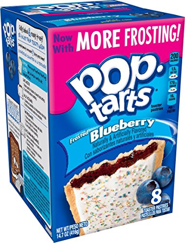 Kellogg's Pop-Tarts Frosted Blueberry, 416gr