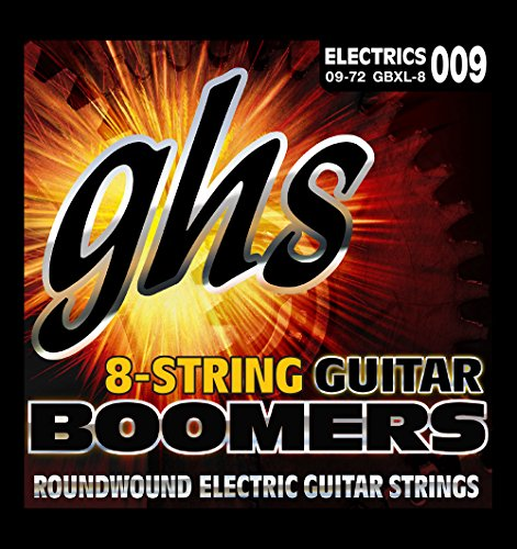GHS Strings Electric Guitar Strings (GBXL-8)