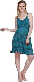 Women's Sleeveless Summer Beach Casual Mini/Short Dress