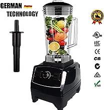 Eu/Us/Au/Uk Plug 3Hp 2200W G5200 Heavy Duty Commercial Grade Blender Mixer Juicer Food Processor Ice Smoothie Bar Fruit,Black,Us Plug