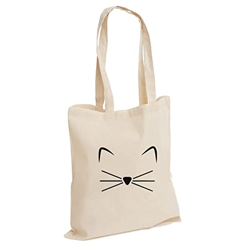 4bf59fc600 Crazy Cat Lady Feline Kitty Meow Wiskers Slogan Animal Kitten Lover Cotton Tote  Bag