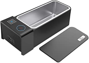 Uten Ultrasonic Cleaner, High Frequency Pressure Cleaner for Cleaning Glasses, Jewelry, Lenses, Coins, Rings, Watches - Glass, Plastic, Aluminium or Ceramic