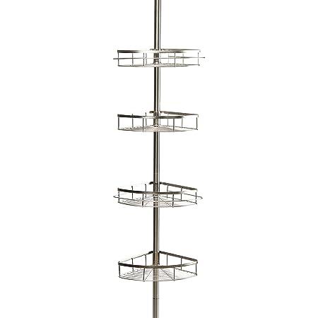 Badezimmer Regal 110 310 Cm Ausziehbar 4 Ebenen Abs Edelstahl Küche Haushalt