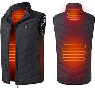 電熱ベストUSB加熱 防寒チョッキジャケット 登山 釣り 加熱ジャケット 暖房服 電熱服 安全 USB充電式
