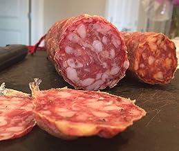 Hot Soppresata Natural Dry Cured Sausage, Nitrate Free