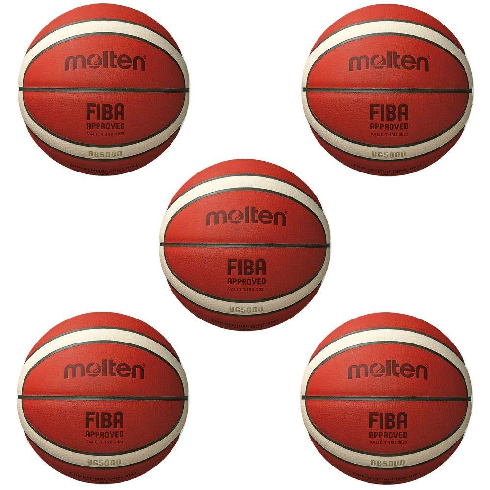 Fan Sport 24 Molten B7G5000 Fiba - Balón de Baloncesto (Talla 7, 5 ...