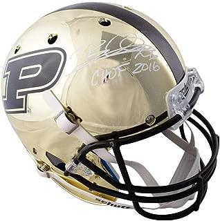 Rod Woodson CHOF 2016 Autographed Purdue Chrome Full-Size Football Helmet - JSA COA
