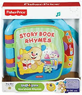 Fisher Price Laugh And Learn Storybook Rhymes Book