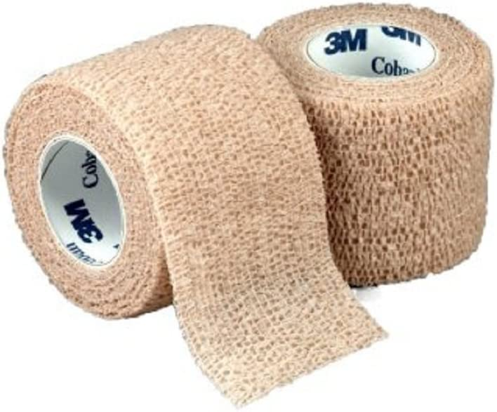 3M Coban - Max 52% OFF Cohesive Bandage 3 Standard 5 Spring new work one after another Compressi X Inch Yard