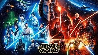 Amnogu 1000 Pièces Puzzles pour Adultes Film Star Wars Jigsaw Puzzles 1000 Pièces pour Adultes Nouveauté Jeux pour Famille...
