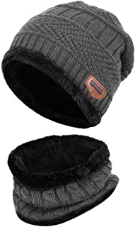 Esther Beauty Ladies Women Winter Beanie Hats Cosy Fleece Liner Knitted Wool Caps Skullies Warm Hats
