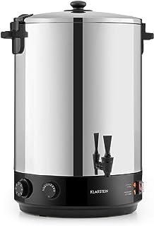 Klarstein KonfiStar 40 - Stérilisateur automatique, Distributeur boissons chaudes, 40 L, 30-110 ° C, Conservation à chaud,...