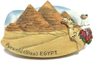 Egypt Great Pyramid Giza Cairo Thai Magnet Hand Made Craft