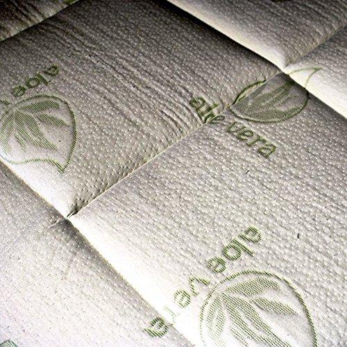 Furniture Outlet Online - Colchón de Espuma viscoelástica para Cama de Matrimonio de 2 Pulgadas