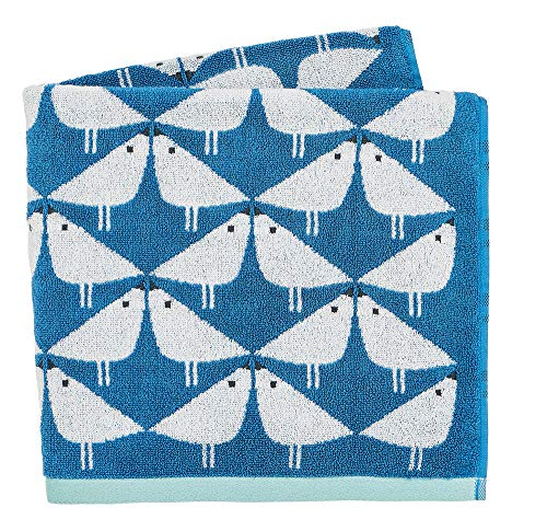 Scion Lintu Towels Bath Denim, 100% COTTON TERRY 550GRMS, 70 x 130 cm