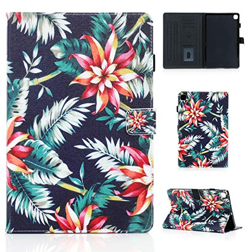 MIYING Galaxy Tab S6 Lite Tablet Protective Case PU Flip Wallet Stand Function Card Slot Magnetic Tablet Case with Pen Holder for Samsung Galaxy Tab S6 Lite 10.4 Inch SM-P610/P615 2020