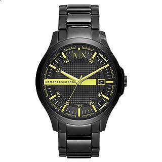 Armani Exchange Hampton AX2407 Stainless Steel Analog Dress Watch for Men