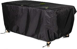 Awnic Funda de Muebles de Jardín Funda para Mesa Silla Jardín ImpermeableTela Oxford Resistente al Desgarro 245X145X71cm
