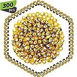WILLBOND 300 Paquets Embellissements Abeille en Bois Mini Abeille en Bois Abeille en Bois Auto-Adhésifs pour Décor de Bricolage Artisanal de Scrapbooking