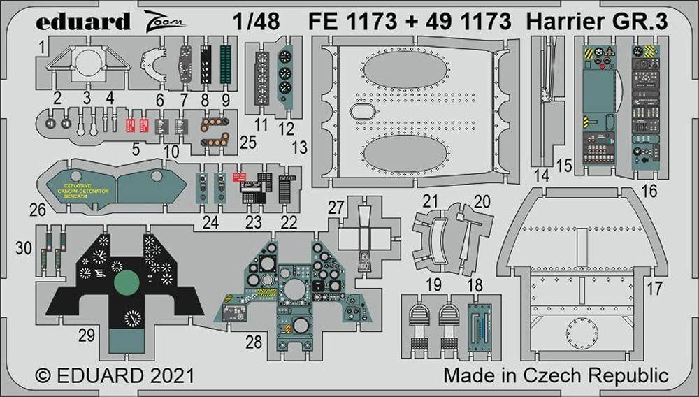 Eduard EDP491173 Super-cheap Photoetch Various Attention brand Set