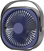 Aocky Ventilador de escritorio USB personal recargable de 6