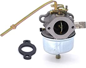 FitBest replacement Carburetor w/Gasket for Tecumseh 631918 HS40 Engines