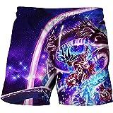 Proxiceen Dragon Ball - Pantalones de playa para verano, pantalones de playa...