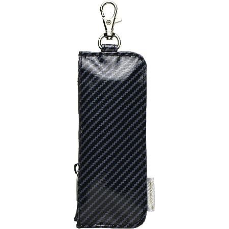 ソニック キーケース カギポケット リール付 ブラック GS-7130-D