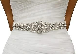 Best cheap rhinestone wedding belts Reviews