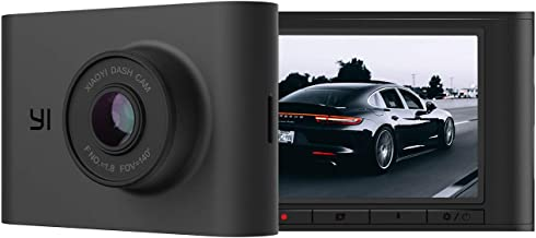 YI Nightscape Dash Cam, 1080p Smart Wi-Fi Car Camera with...