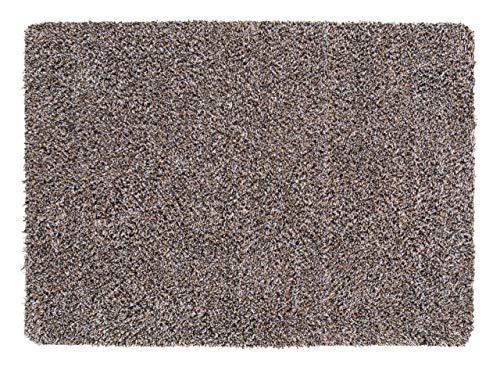 andiamo Schmutzfangmatte Sauberlaufmatte Fußmatte - Indoor/Outdoor Matte - waschbar, in 4 Farben erhältlich, Farbe:Beige, Größe:120 x 180 cm