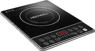 Plaque Induction Portable Heichkell,2000W Plaque à Induction Portable Ultra-fin,Commande par capteur et verrou de sécurit...