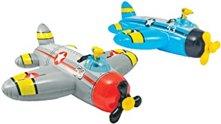 "Intex Water Gun Plane Ride-On, 52"" x 51"", for Ages 3+, 1 Pack (Colors May Vary)"