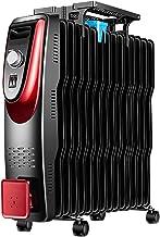 JYBRQ 2000W Bajo Consumo Radiador De Aceite De ,15 Elementos,Dispone De 3 Ajustes De Potencia,Control Termostático De Temperatura,Protección contra Sobrecalentamiento,Diseño Exclusivo