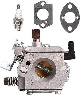 Trustsheer WT-16B Carburetor for Stihl 028 028AV 028WB 028Q 028W 028 Super Chainsaw Tillotson HU-40D Walbro WT-216 11181200600 11181200601 Carb with Gaskets Spark Plug