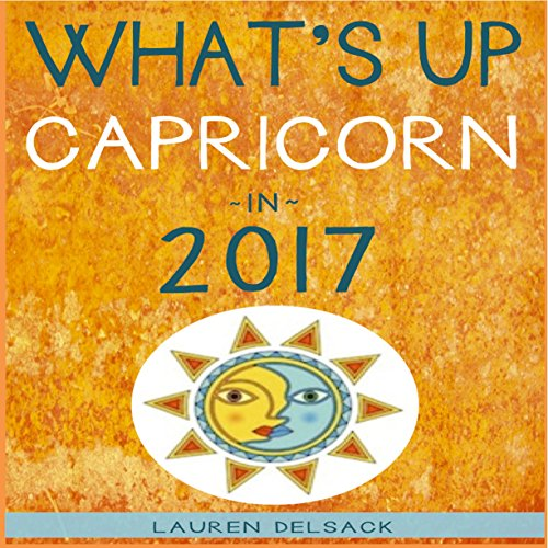 What's up Capricorn in 2017 audiobook cover art
