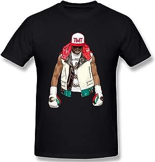 Floyd Mayweather Logo TMT Men's Black T Shirt