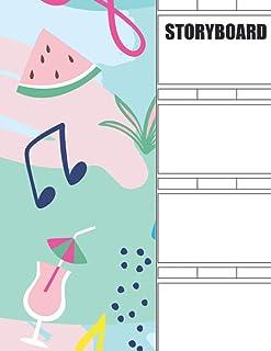 Storyboard: Blank Storyboard Sketchbook Pad
