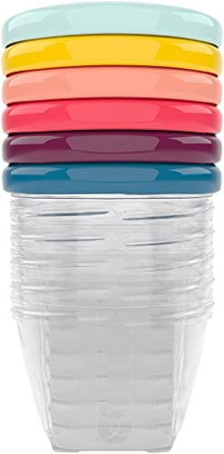 Babymoov Leak Proof Storage Bowls | BPA Free Containers With Lids, Ideal to Store Baby Food or Snacks for Toddlers (P...