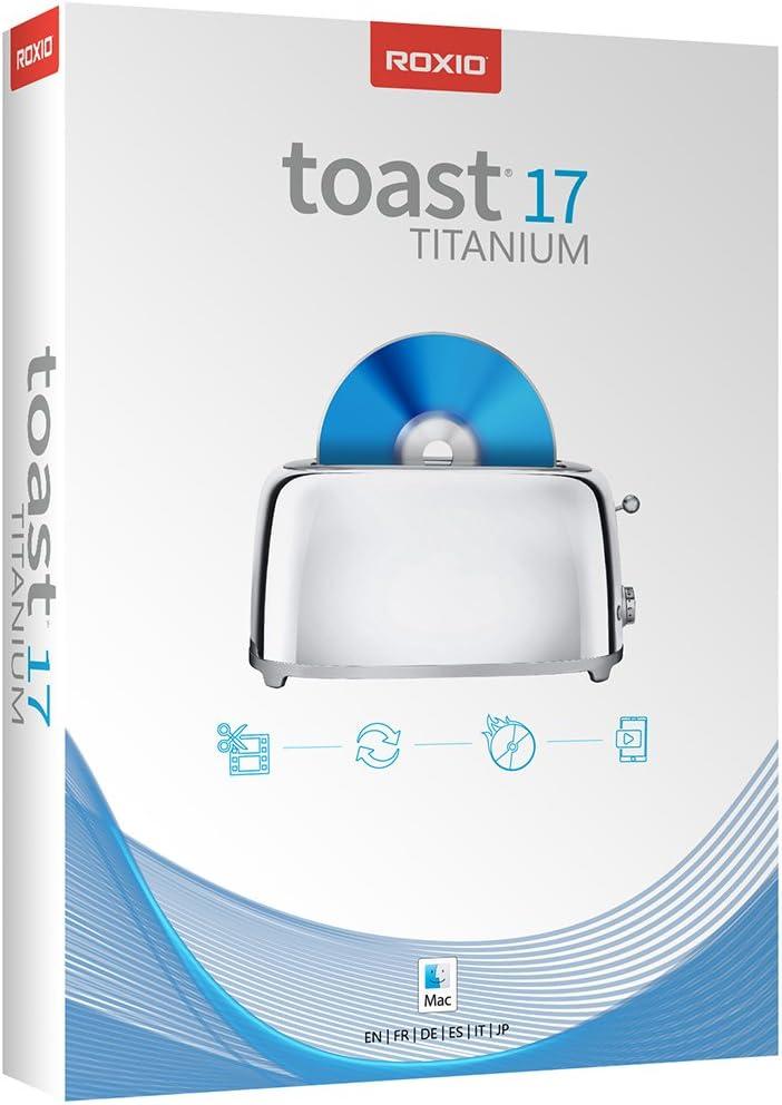 Roxio Toast 17 Titanium - Complete Su Media Financial sales sale Digital Burner DVD wholesale