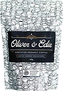 Oliver & Edie Organic Coffee Beans 250 g