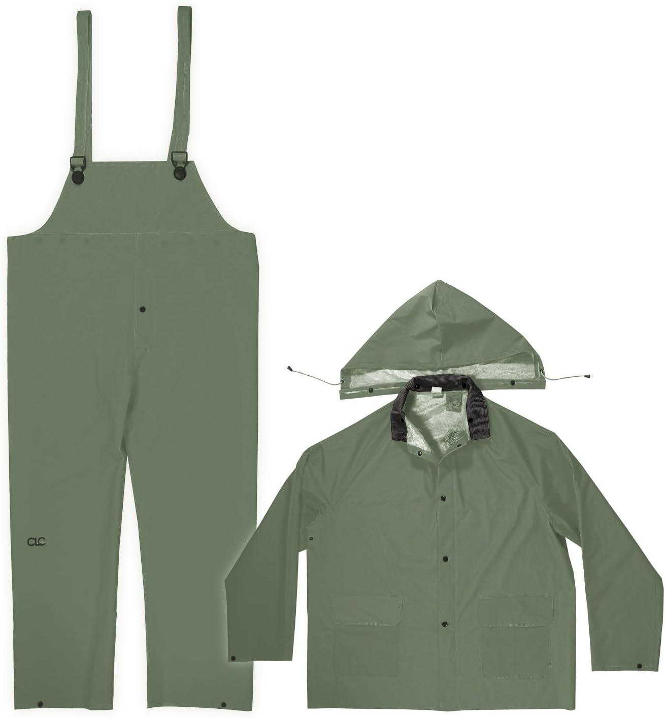 CLC Custom Leathercraft Rain Wear .35MM R1313X Direct store 3-Piece Suit Fort Worth Mall