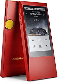 AK Jr MP3 Player,Hi-Res Music Player with Bluetooth,Aluminum Alloy Body,Capacitive Touch Screen for Running Gym 64GB (Red)