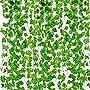 Outgeek Artificial Ivy 12 Strands 84 Ft Silk Fake Ivy Leaves Hanging Vine Leaves Garland...