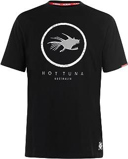 Hot Tuna Mens Crew T Shirt Neck Tee Top Short Sleeve